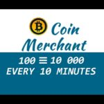 5 PAYMENT BITCOIN FAUCET *COIN MERCHANT* 100 TO 10000 SATOSHI EVERY 10 MIN (WITHDRAWALAUDIOSCREEN)