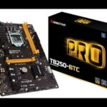 BIOSTAR Unveils the TB250-BTC Motherboard for Bitcoin Mining Rigs