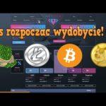 """""""Darmowy Cloud Mining""""  Litecoin, Dogecoin, Bitcoin,  Dollar – 100 GH/S na Start!"""