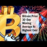 Bitcoin Price 30-Day Moving Average At Highest Ever Hindi/English/Urdu