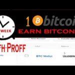 How To Earn Bitcoins Fast And Easy 1 Bitcoin Mining With Proff Alexa z  Alexa z