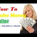 How To Make 50000 Dollars A Month Tutorial – Earnning Money Online Fast