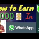 how to know | make money online | work from home in whats app