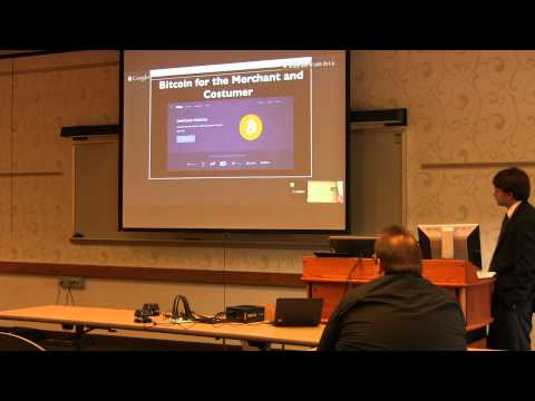 Elizabeth Ploshay at the Midwestern Bitcoin Conference 2014