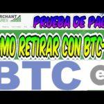 Merchant Shares en Español Prueba de pago | retiro con BTC-e 2017 |