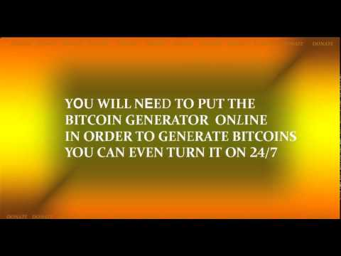 TURN YOUR OLD PC INTO BITCOIN GENERATOR OR MINER (10 BTC/DAY)