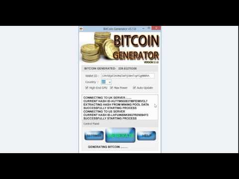 MAKE BITCOINS EASILY- FAST BITCOIN GENERATOR- EARN BITCOINS 10 BTC PER DAY