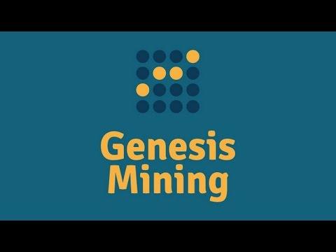 GENESIS MINING - A MELHOR MINERADORA BITCOIN