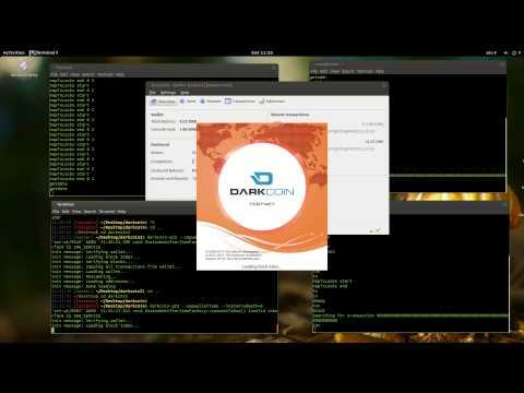 Darkcoin - InstantX Demonstration