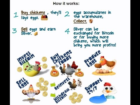 Chickencoins-Como ganar Satoshis gratis jugando