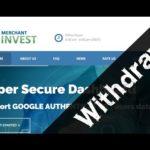 1º Withdraw Merchant Invest