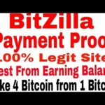 Bitzilla Payment Proof In Blockchain Account-bitziila No Scam Legit Site -Best Mining Site 2017