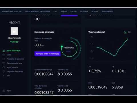 Bitcoin 150 UDS FRE FRE DE bonus HEXXO MINING   FREE