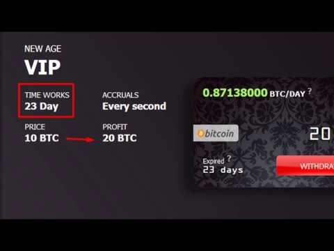 20 BITCOIN VIP NewAge Bank SCAM???
