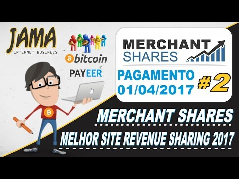 Merchant Shares - Meu segundo pagamento de $25 instant Payeer