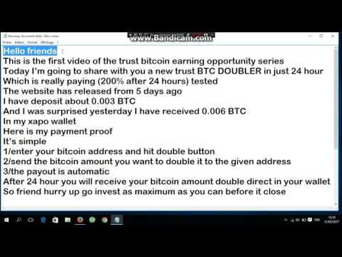 LEGIT Bitcoin Doubler INDIA