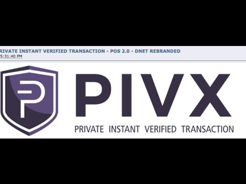 Yo Craig Grant, what you think about PIVX?