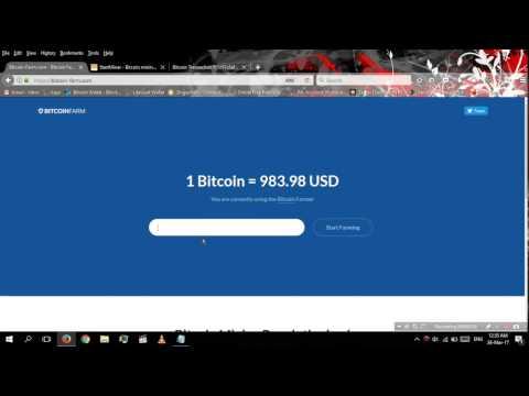 Bitcoin Farm com Free 10 Satoshi⁄Minute SCAM