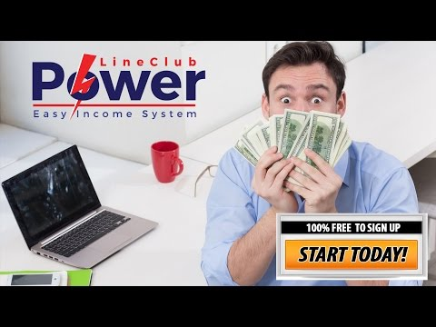 Make Money Online Easy With Power Line Club
