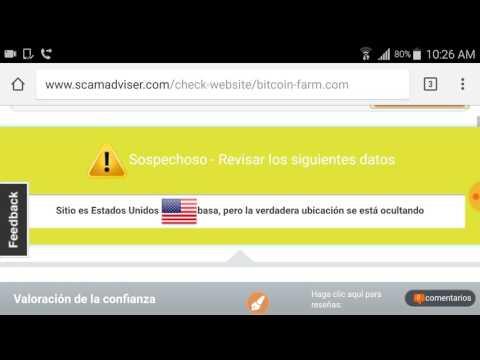 BitcoinFarm FALSO O SCAM