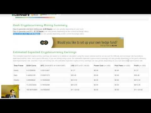 Genesis Mining Dash Bitcoin ... IST MINING RENTABEL..?