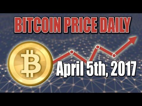 Bitcoin Price Daily & Tips April 5, 2017 | 04 05 17