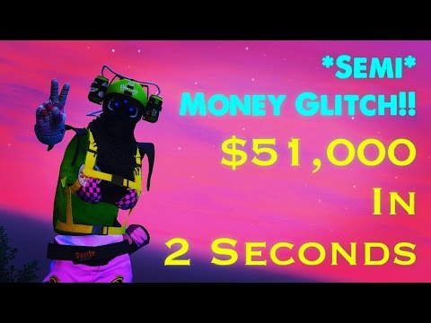 Gta 5 Online= *Easy* Semi Money/Teleport Glitch Online! (How To Make Money Fast In Gta 5 Online!!)