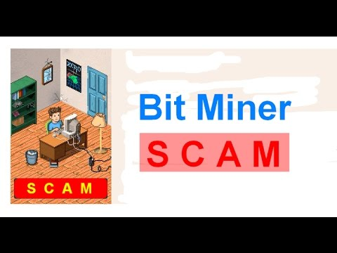 Bitminer free bitcoins - Scam !!!