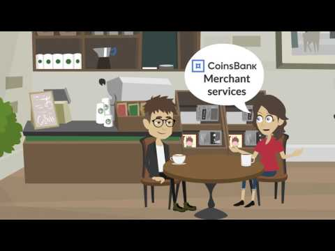 Meet Bob & Carol!!!...  Carol Teaches Bob about CoinsBank Merchant Services & Corporate Accounts...