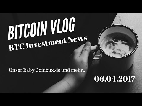 Bitcoin Investment News  | Coinbux & Co  | Bitcoin Vlog