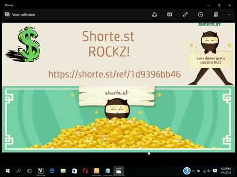 Make money online with shorter.st