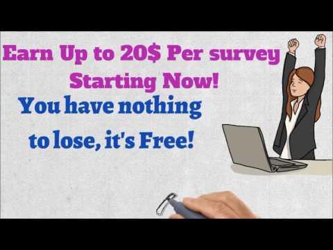 Really Make Money Online Doing Surveys