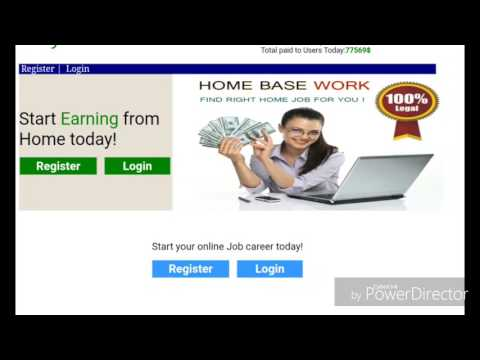 Make money online and from home.. click the link in the description to get started..