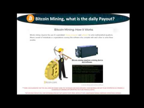 Bitcoin and Altcoin Mining Risk and Return with Swiss Gold Global