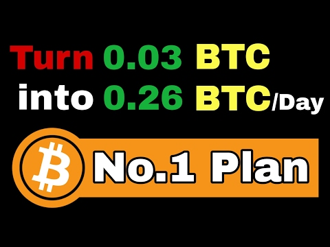 Earn Unlimited Bitcoin with small Investment - Get Bitcoins [0.26 BTC/Day]