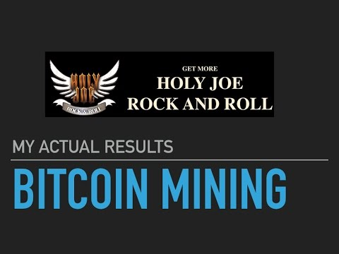 Is BITCOIN MINING a Waste of Time? (HJRR) BREAKING NEWS
