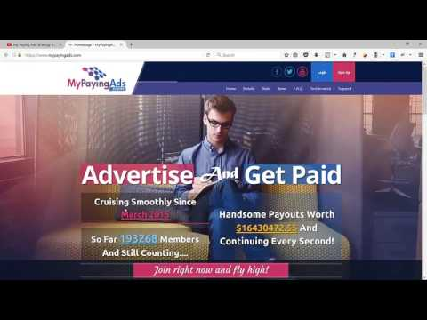 How Can I Make Money Online From Home - My Paying Ads.mp4