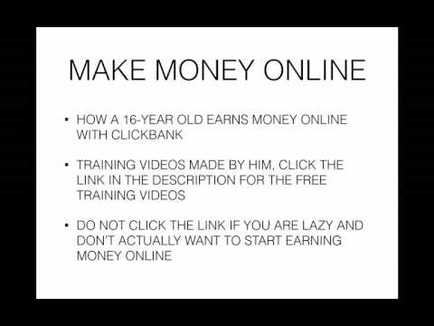 Ways To Make Money Online - Make Money Online From Home Faster 2017 $1,000 Per Day