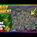 GTA 5 Online TOP *FIVE* Fastest Money making MISSIONS *New Method* How To Make MONEY In GTA Online!