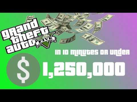 GTA 5 Online - 3 Ways To Make Money Fast & Rank Up Fast in GTA Online!