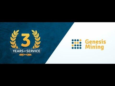 3 anos de mineração de altcoins Gênesis Mining