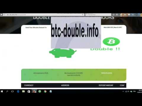 How To Double Your BTC Bitcoins Instantly [NO SCAM!] [Working website 2017]