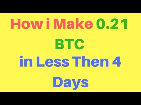 Earn Unlimited Bitcoin with Investment - Get Free Bitcoins [0.26 - 0.50 BTC /Month]