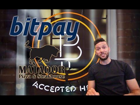 How To Accept Bitcoin as a Merchant - feat. Bitpay & Matador Pizza
