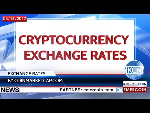KCN Pleasant rise of Bitcoin and Ethereum. This and more in Exchange Rates