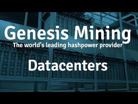 Genesis mining Bitcoin farm in Iceland | Биткоин ферма в Исландии.