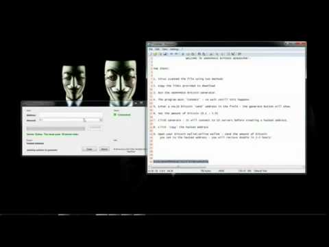 Bitcoin Generator by ANONYMOUS – No survey or password! – 2014