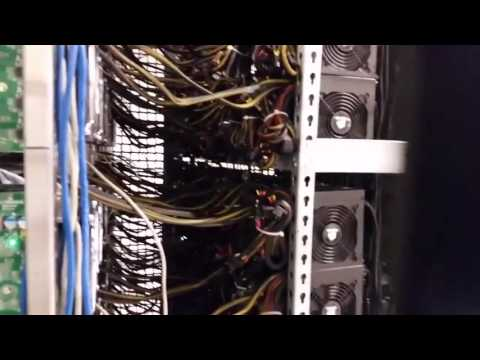 Bitcoin Mining Operation - Super big Asic mining rigs