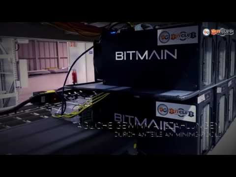 Bitcoin Mining Anlage in Island Bitclub