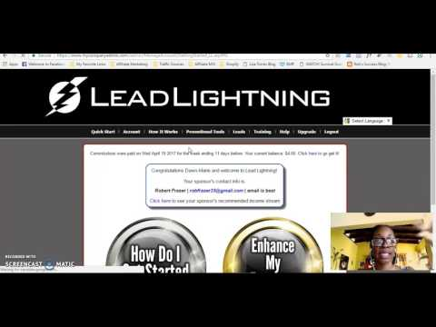 Make Money Online Plan For Less Than $20 - Lead Lightning, My Paying Ads and Leased Ad Space